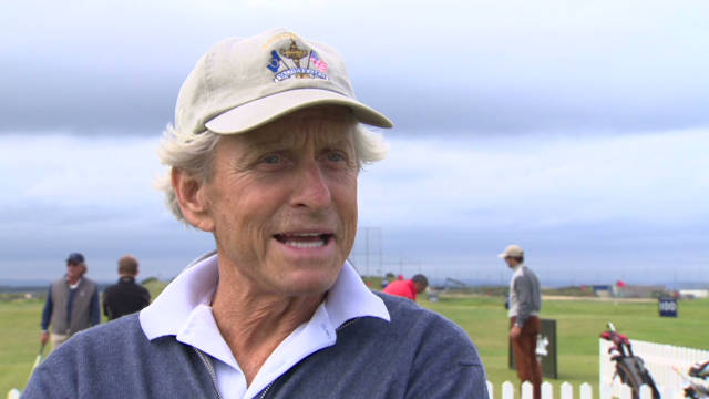 Celebs compete at St. Andrews