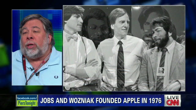 Steve Wozniak talks to Piers Morgan about Steve Jobs back in August