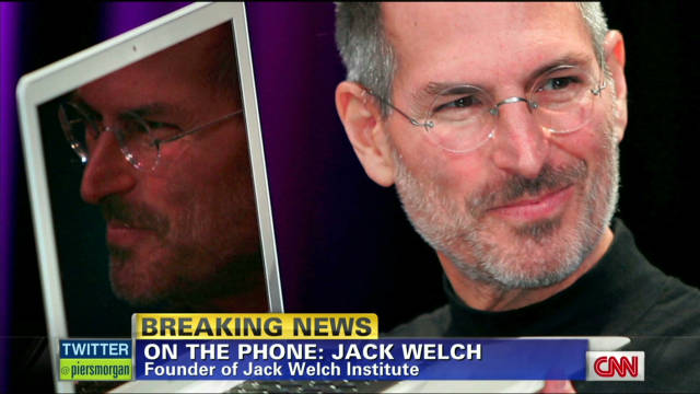 Jack Welch: Steve Jobs defined cool