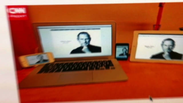 Online tributes to Steve Jobs