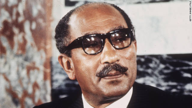 Egyptian President Mohamed Anwar al-Sadat was assassinated during an annual parade in October 1981.