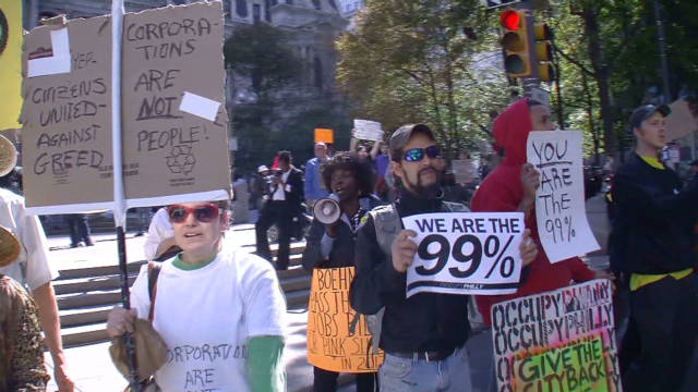 Occupy Wall Street spreads to Philly