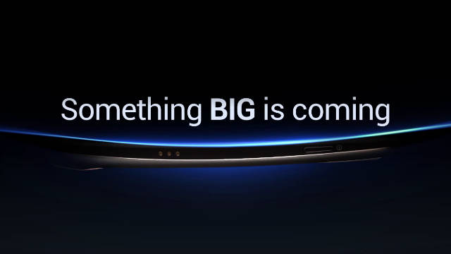 Samsung had released a video to promote Tuesday's announcement but decided to postpone the event.