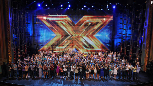 "32 semifinalists remain on ""X Factor, "" split into four categories: girls under 30, boys under 30, singers over 30 and groups."