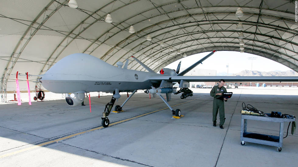 US Military Drones Flown On Missions In War Zones Are Operated Out Of Nevada39