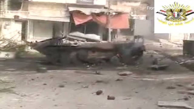 Clashes intensify in Syria