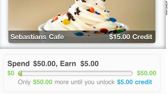 LevelUp gives users deals and discounts automatically when they pay with the smartphone app.