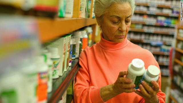 Older women are reportedly at an increased risk of death when consumng vitamins or other dietary supplements.