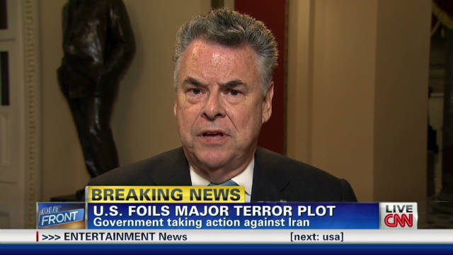 King: Terror plot 'an act of war'