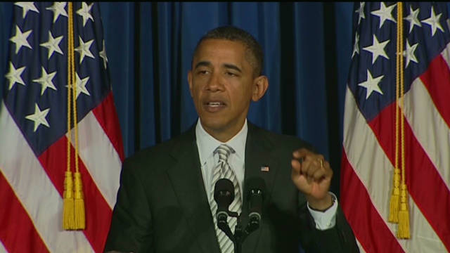 Obama 'will not take no' on jobs bill