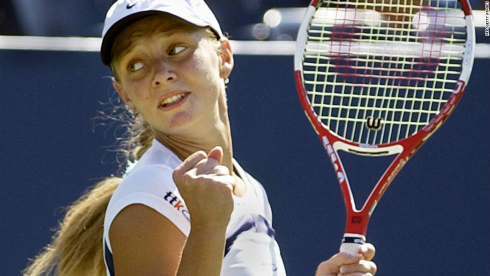 Chakvetadze launched herself onto the senior circuit as a 17-year-old in 2004 when she upset world No. 3 Anastasia Myskina, another Russian, in the second round at the U.S. Open.