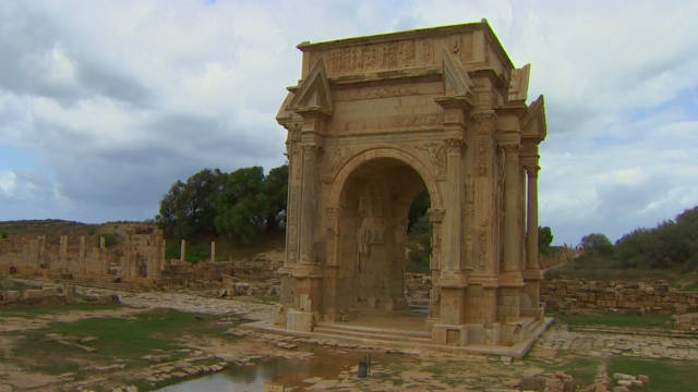 Libya's treasures under threat