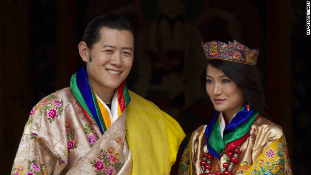 Bhutan holds a royal wedding