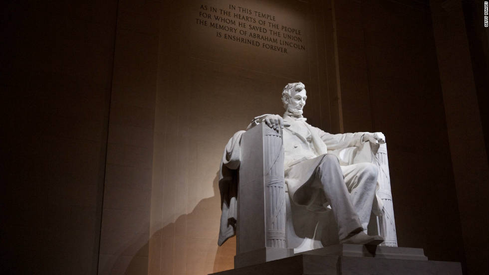 "The Rev. Martin Luther King Jr. delivered his ""I Have a Dream"" speech from the steps of the Lincoln Memorial in 1963. Daniel French was responsible for the imposing sculpture of Lincoln."
