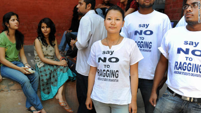 India's problem with 'ragging'