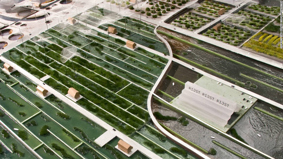 Growing the food on site will remove the need for packaging and long-haul transportation. The park's architects hope that this will to cut the carbon emissions typically associated with food production.