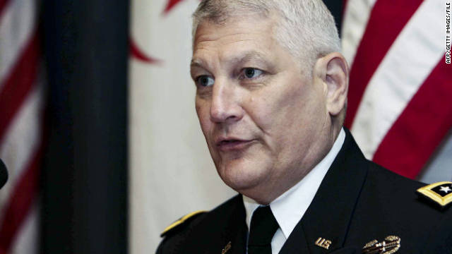 Gen. Carter Ham, commander of U.S. Africa Command, expressed concern that missiles are crossing Libya's border.