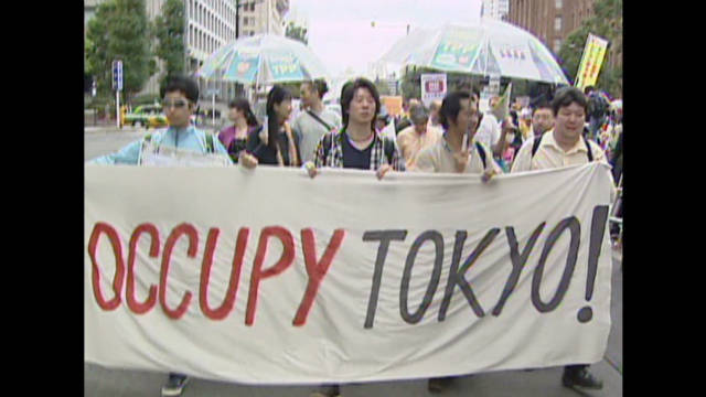 Occupy protests spread to Tokyo
