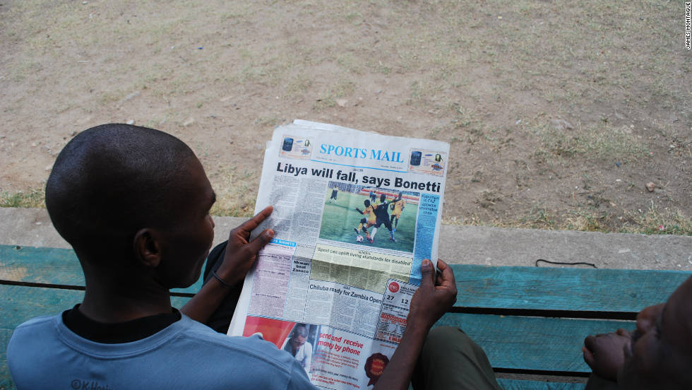 Zambia only need a point to secure their place in 2012's Nations Cup finals, to be held in Equatorial Guinea and Gabon. Libya need to win, although a draw might be enough to secure one of two spots reserved for the best runners-up. Results in Ghana and Nigeria would have to go their way. But the local Zambian press is confident ahead of the match.