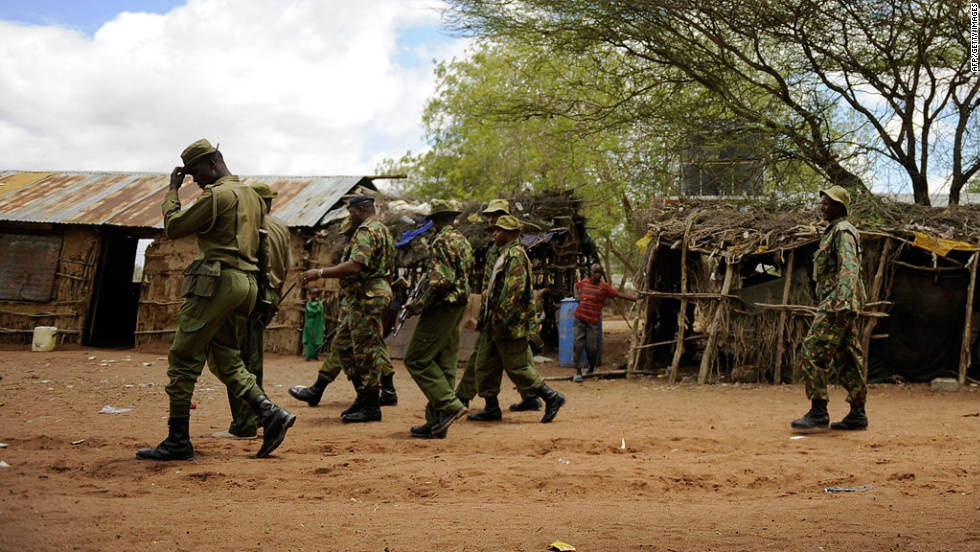 Kenyan security forces have vowed to pursue Al-Shabaab fighters across its border with Somalia.