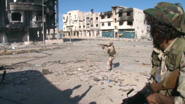 Snipers rule in battle for Sirte