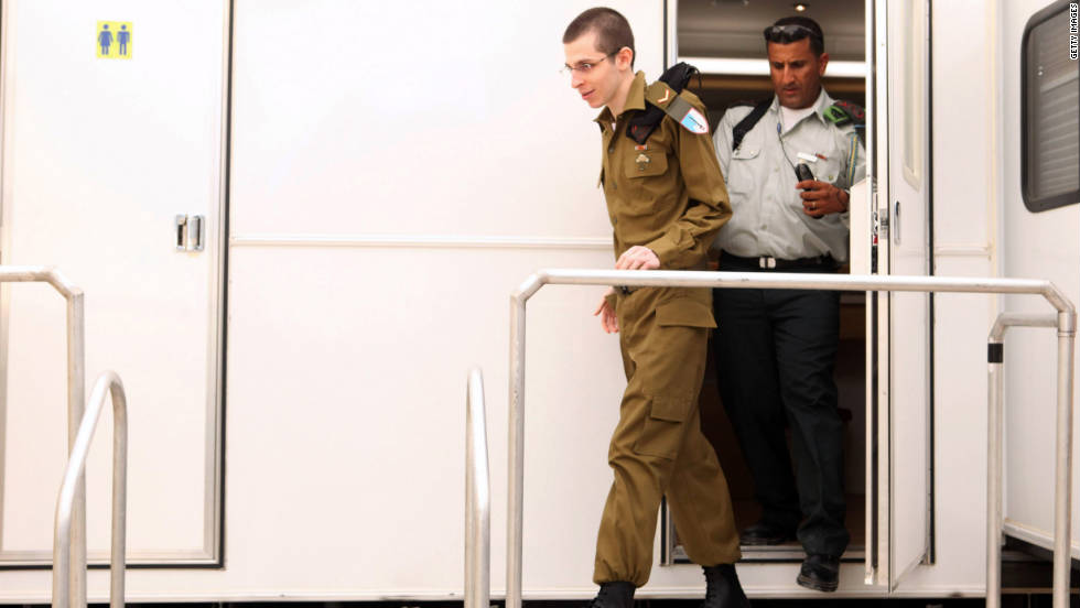 "Shalit learned about a week ago that he was going to be released, though he ""felt it for the last month,"" he told Egyptian television after his release."