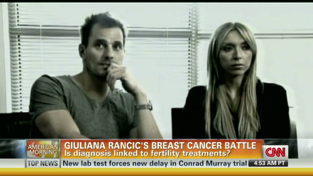 Giuliana Rancic's breast cancer battle