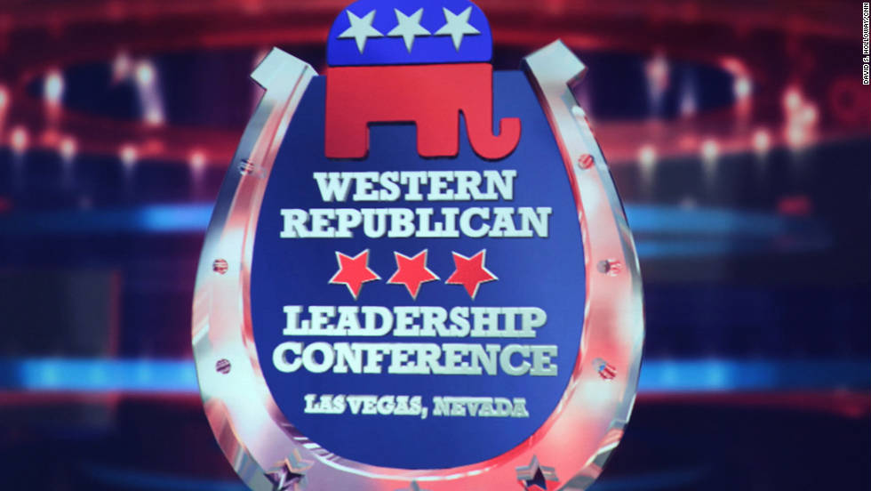 GOP presidential candidates met at the Western Republican Debate at the Sands Convention Center on Tuesday. The debate was hosted by CNN.