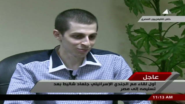 Gilad Shalit talks about his freedom