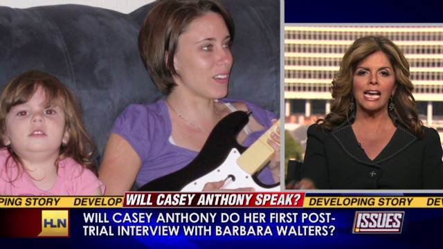 Race for Casey Anthony's first interview