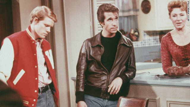 "The hit television show ""Happy Days"" was on the air from 1974 to 1984."