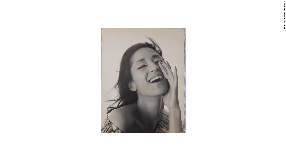 China Machado started her modeling career in Paris back in 1954.