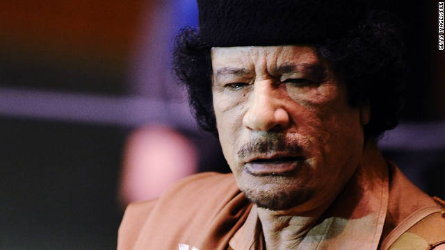 Gadhafi's final hours on the run
