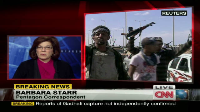 Gadhafi capture means big win for U.S.