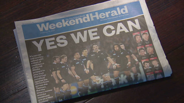 New Zealand and France prepare for final