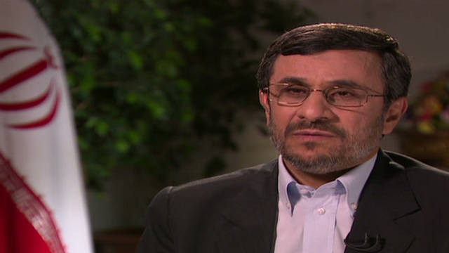 Ahmadinejad: U.S. hated around the world