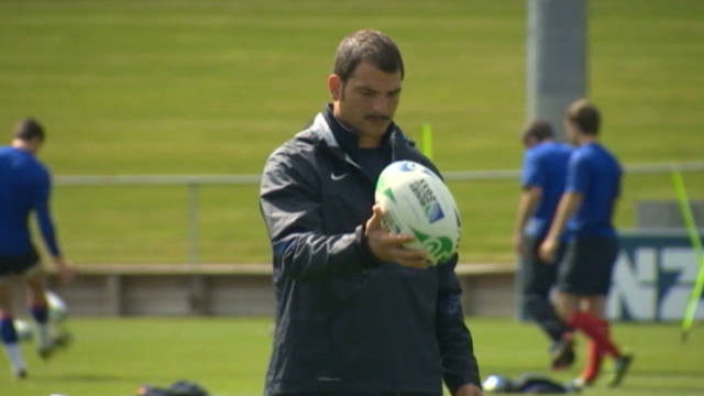 The Rugby World Cup final from Paris