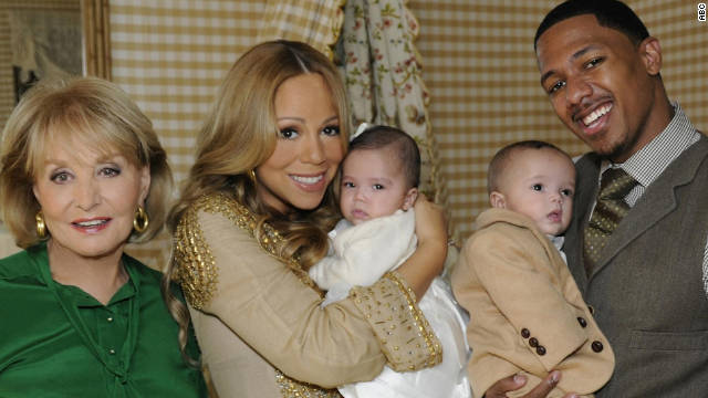 """We look identical and we have the identical smile,"" Mariah Carey said about her son Moroccan."
