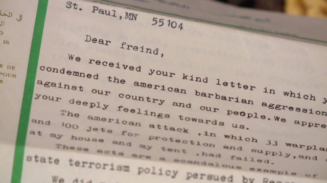 Gadhafi letters to U.S. second-graders