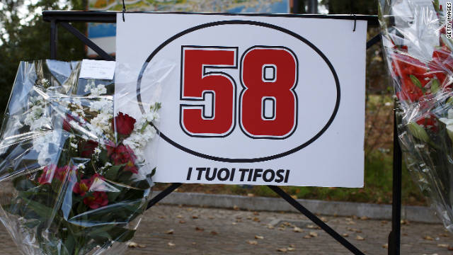Tributes pour in for Simoncelli
