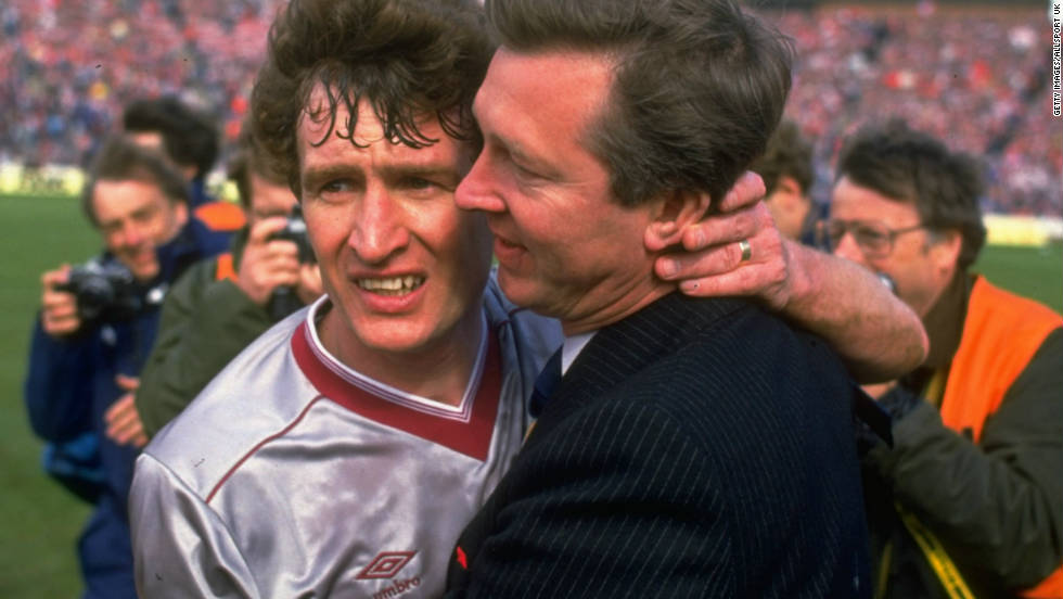 Ferguson made his name as a manager at Aberdeen. His fourth Scottish Cup win in 1986 was his last success with the Dons, having won three Scottish league titles and the 1983 European Cup Winners' Cup -- beating mighty Real Madrid in the final.