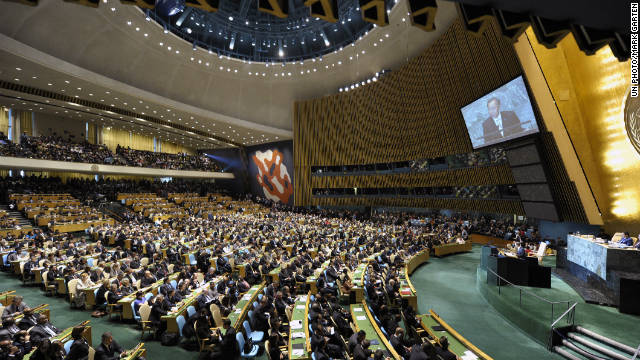 The U.N. General Assembly has once again voted overwhelmingly to lift Cuban sanctions.