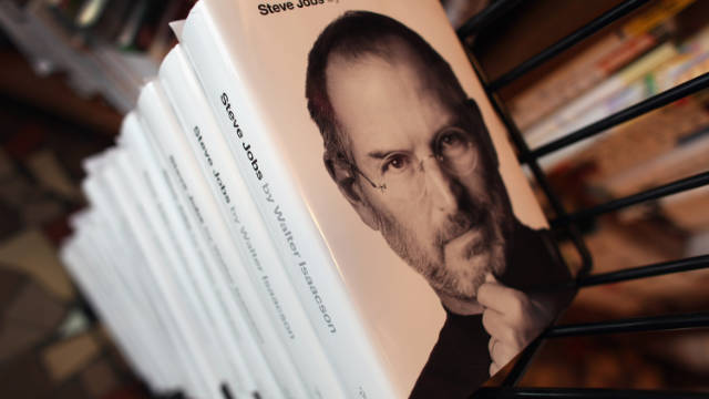 """Steve Jobs"" by Walter Isaacson has been a huge seller since it hit stores October 24."