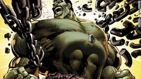 The Incredible Hulk #1Written by Jason Aaron Pencils by Marc Silvestri Colors by Sunny Gho of IFS