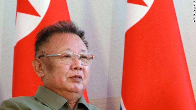 North Korean news reports have shown leader Kim Jong-Il, pictured here in August, traveling around the country.