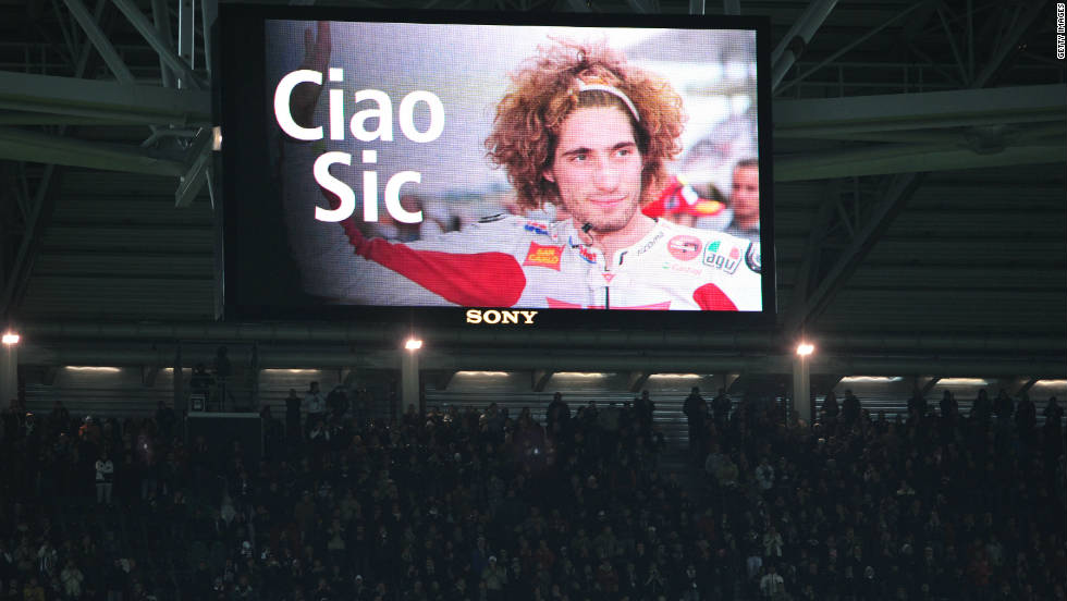 "Simoncelli was loved for his colorful quotes, and his down-to-earth style. ""Once I went to train on a motocross bike track. At the entrance the attendant recognized me, smiled, and started to ask questions: 'Are you Simoncelli? The famous rider? The one from MotoGP?' I answered so proud: 'Yep, that's me.' And him: 'Thirty euros!'"""