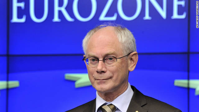"Herman Van Rompuy's memo singled out ""member states that ... have consistently failed to meet the conditionality"" of their relief."