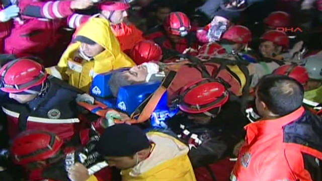 Quake victim rescued after 100+ hours