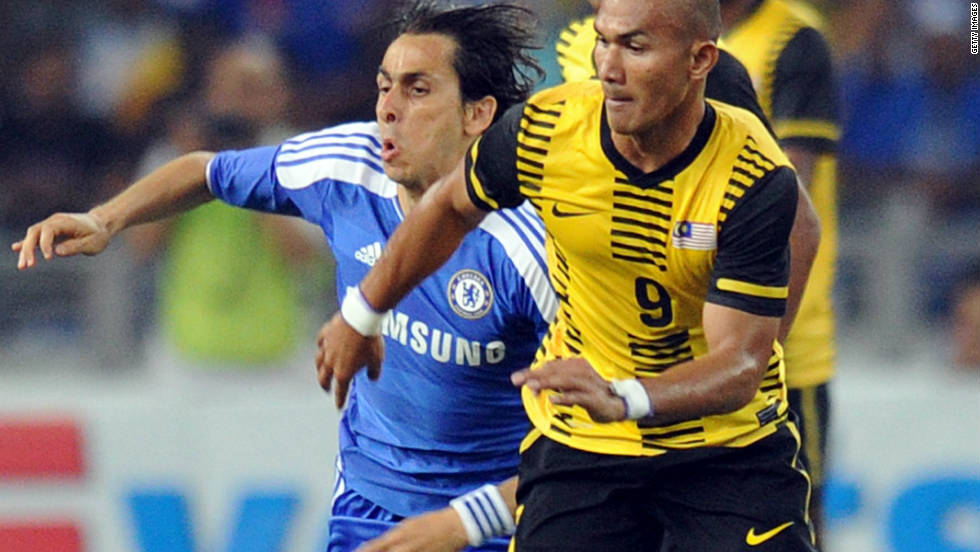 The Malaysian FA apologized to Chelsea in Julyn 2011, when Israeli midfielder Yossi Benayoun was subject to racial slurs during a pre-season game in the country.