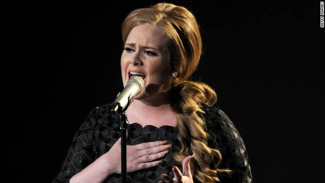 Adele will perform at the Grammy Awards on Sunday. It's her first time taking the stage since having throat surgery in November.